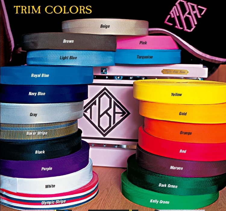 Custom Baker Trim Colors