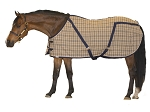Blue Ribbon Custom Horse Plaid Day Sheet