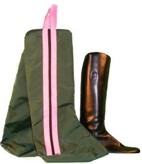 Custom Two-Piece Equestrian Boot Bag
